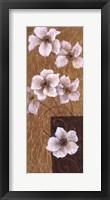 Blossoms on Gold II Framed Print