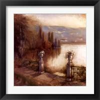 Framed Lakeside Entrance