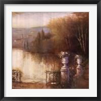Framed Florentine Lakeshore
