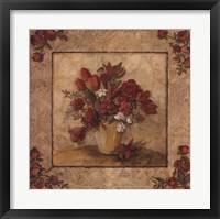 Crimson Love I Framed Print