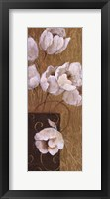 Blossoms on Gold I Framed Print