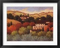 Framed Strove, Tuscany