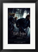 Framed Harry Potter and the Deathly Hallows: Part I