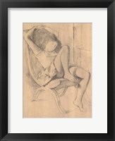 Framed Untitled Drawing