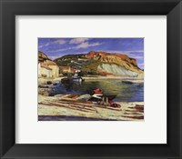 Framed Cassis Pier