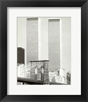 Framed World Trade Center