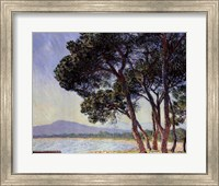 Framed Beach in Juan-les-Pins