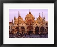 Framed St Marks Cathedral