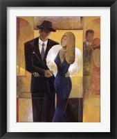 Framed Town Couple