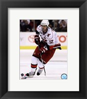 Framed Eric Staal 2010-11 Action