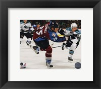 Framed Chris Stewart 2010-11 Action