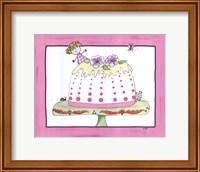 Framed Sophie and the Tea Cake