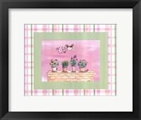 Framed Flyby Fairy -Flowerpots