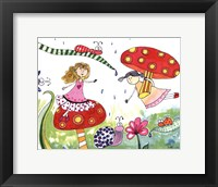 Framed Springtime Fairies