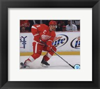 Framed Nicklas Lidstrom 2010-11 Action