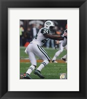 Framed Darrelle Revis 2010 Action