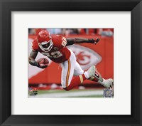 Framed Dwayne Bowe 2010 Action
