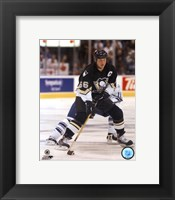 Framed Mario Lemieux Action