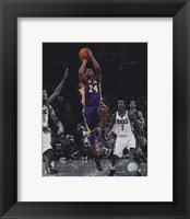 Framed Kobe Bryant 2010-11 Spotlight Action