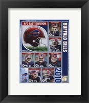 Framed 2010 Buffalo Bills Team Composite
