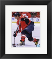 Framed Alex Ovechkin 2010-11 Action
