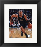 Framed Tony Parker 2010-11 Action