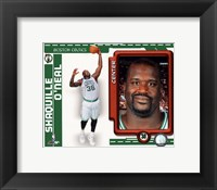 Framed Shaquille O'Neal 2010-11 Studio Plus