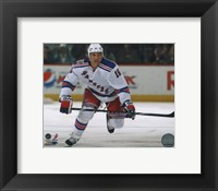 Framed Sean Avery 2010-11 Action