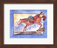 Framed Ride em Cowboy