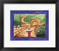 Boy In China Framed Print