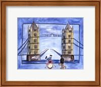 Framed Boy in London