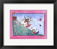 Jack and Jill Framed Print