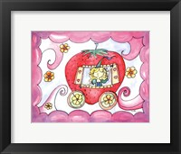 Strawberry Carriage Framed Print