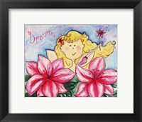 Framed Hibiscus with Blonde