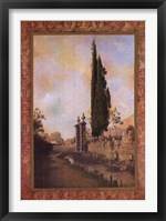 Framed Volterra Tapestry I