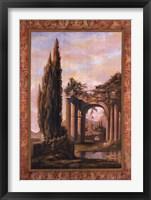 Framed Volterra Tapestry II