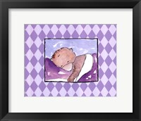 Sleeping Baby I - Bear Framed Print