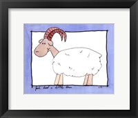 Framed Little Ram