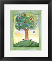 Framed Apple Tree Hill