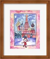 Framed Girl In Russia
