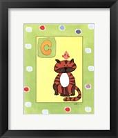Framed C is for Cat
