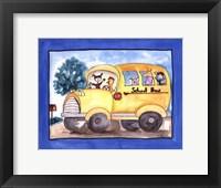 Framed School Bus