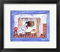 Baa Baa Black Sheep Framed Print