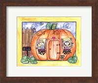 Framed Mr and Mrs Pumpkin Eater