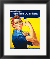 Framed Smoking - You Cant Do It