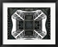 Framed View of the Eiffel Tower from below