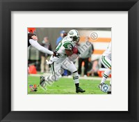 Framed Shonn Greene 2010 Action