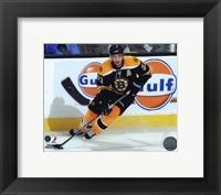 Framed Patrice Bergeron 2010-011 Action