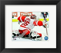 Framed Jimmy Howard 2010-011 Action