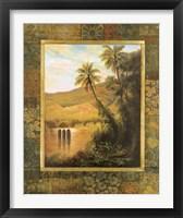 Framed Las Palmas
